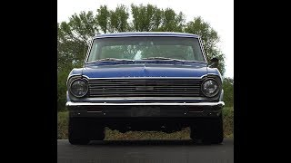 65 Chevy II Nova SS BACK TO LIFE  start up walk around RARE CAR