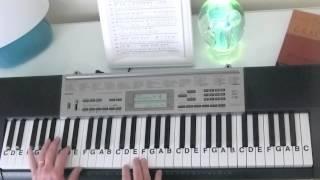 How to Play ~ Ob La Di  - Ob La Da ~ The Beatles ~ LetterNotePlayer ©