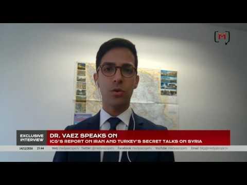 ICG's Report on Iran and Turkey's Secret Talks on Syria