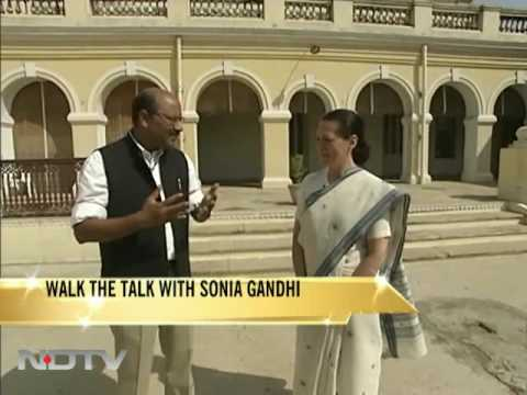 Walk The Talk with Sonia Gandhi