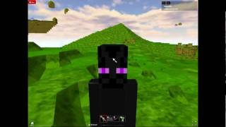 i'm an enderman in roblox!