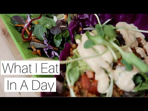 WHAT I EAT IN A DAY | BUSY DAY | VEGAN FOOD IN PHOENIX