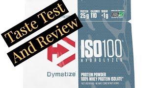 Dymatize ISO 100 Classic Vanilla Taste Test