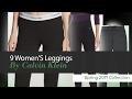 9 Women'S Leggings By Calvin Klein Spring 2017 Collection