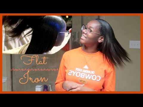 Blow Out & Flat Iron   Kids Hair   Cook & Clean with us   RWTR   Family Vlogs