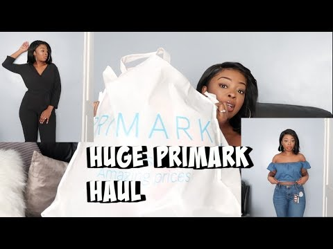 HUGE PRIMARK TRY ON HAUL-HOW I KEEP MY KIDS LOOKING FLY ON A BUDGET