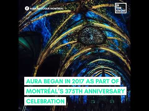 Montreal's Notre-Dame Basilica hosts stunning light shows that are pure magic