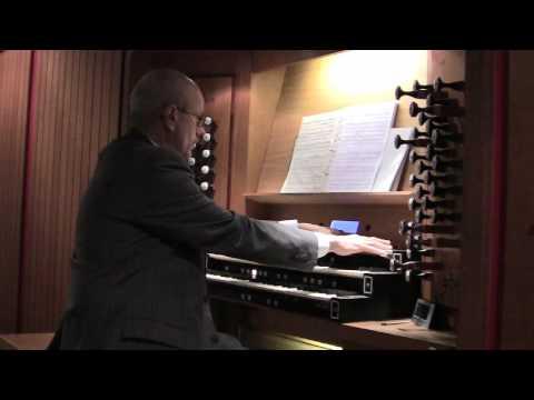 Martin Luecker spielt Max Reger Benedictus op. 59, Nr. 9