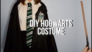 Easy DIY Harry Potter - Hogwarts Inspired Costume