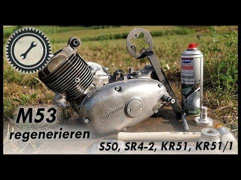 Simson Motor M53 regenerieren & Verschleiß erkennen - S50, KR51, KR51/1, SR4-2 Tutorial