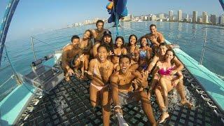 Mana Kai Catamaran - Glimpse of Hawaii [Gopro & DJI Phantom 3 Pro]