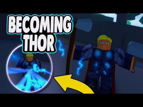 [EXCLUSIVE CODE] BECOMING THOR! | Strombreaker and Mjolnir in Roblox Heroes Online | Endgame Event