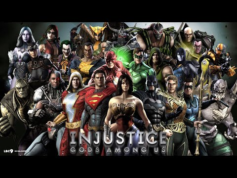 Injustice - Gods Among Us - 100% complete - FULL STORY