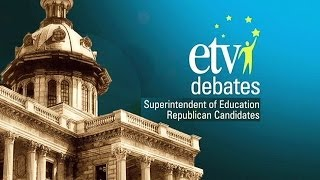 Superintendent of Education Republican Debate