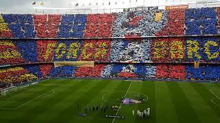 Fc barcelona anthem at camp nou el ...