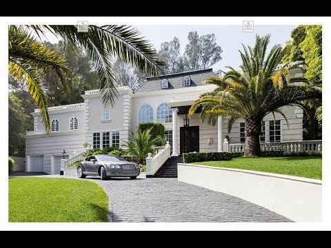 Live showing of the Villa Bosphorus in Bel Air listed for $7,999,000 in the Stone Canyon Area