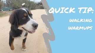 QUICK TIP: Walking Warmups with Elliot
