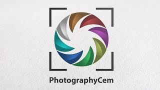 Tutorial How To Design A Photography Logo design In Adobe illustrator CC with best simple graphic