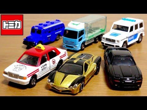 トミカ博inOSAKAから新登場☆トミカイベントモデル 全6種 ボンネットバス・オロチ・ワニトラック・海外パトカー・スープラ・タクシー
