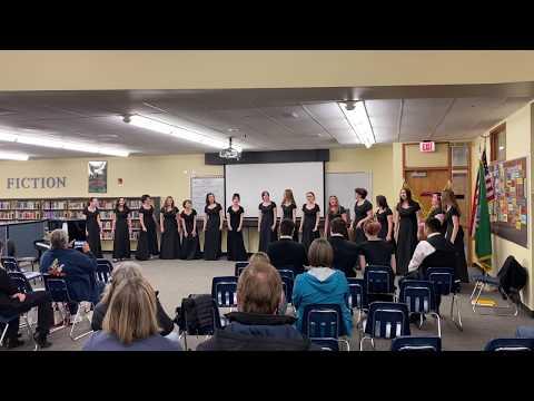 "Mark Morris High School SSAA Chamber Choir Ensemble performing ""Tell My Ma"" by Vijay Singh"