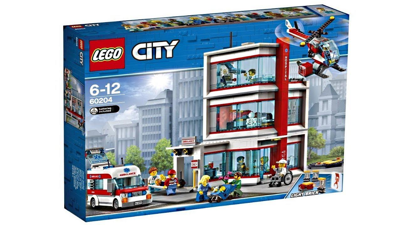 Finally Another Lego City Hospital Set Youtube