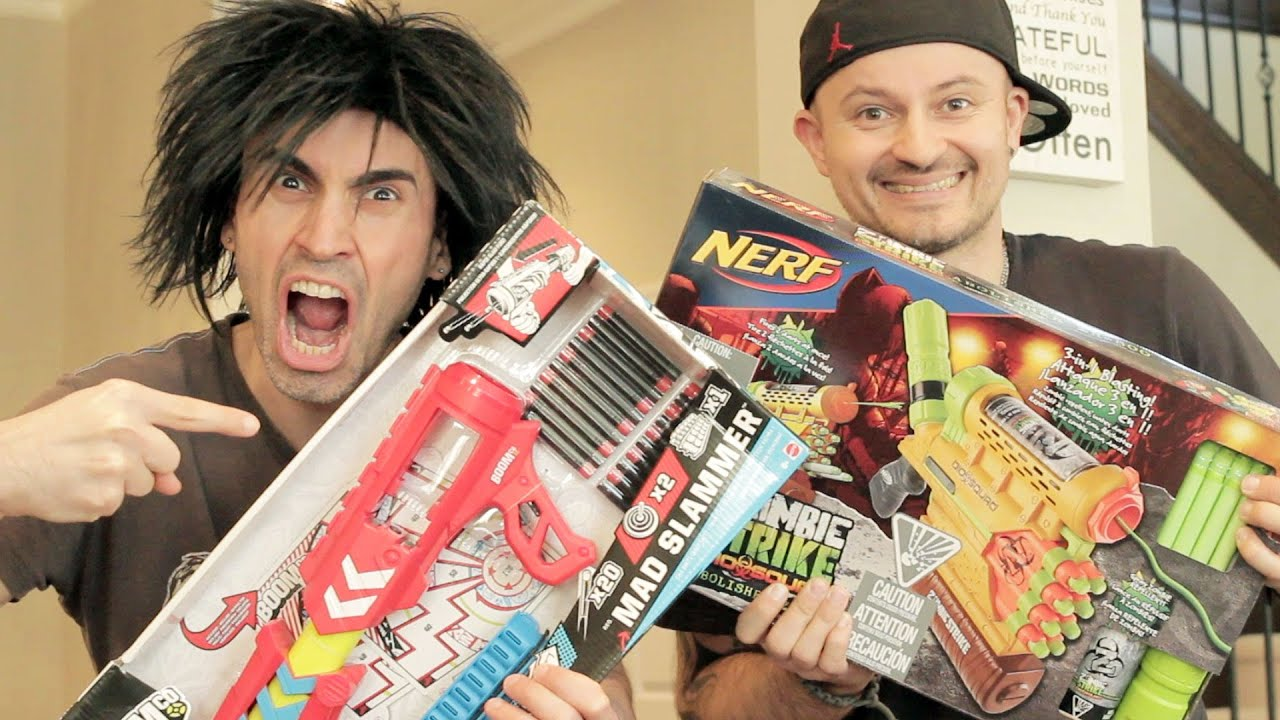 Nerf Vs Boomco Unboxing War
