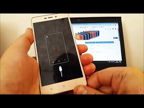 Как разблокировать  Xaiomi Redmi 3S если телефон заблокирован