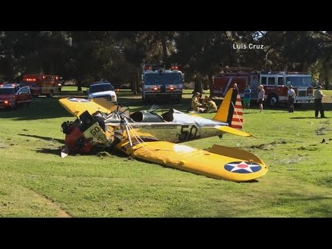 Harrison Ford Plane Crash: New Images Released