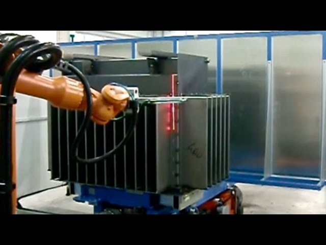 ROBOT - SALDATURA CASSE TRASFORMATORI