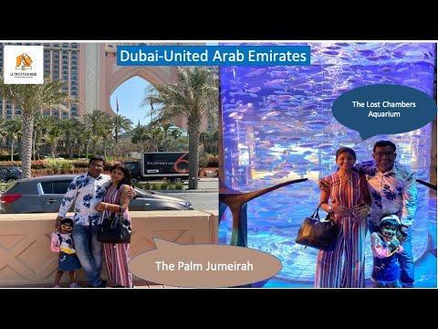 Dubai Diaries , The Palm Jumeirah & The Lost Chambers Aquarium