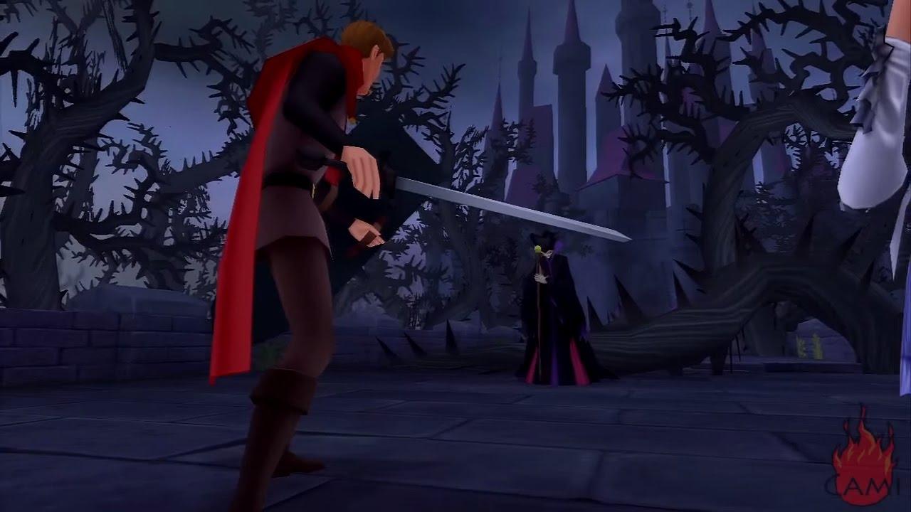 Kingdom Hearts - Dragon Maleficent Boss - YouTube