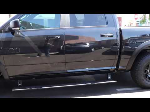 Amp Steps Electric Running Boards On Ram 1500 Rebel