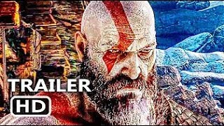 GOD OF WAR Official Final Trailer 2018 Action Game HD