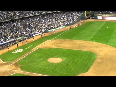 NLDS 2011 Milwaukee Brewers