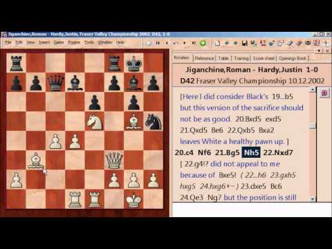 Chess Strategy - Panov Attack - Two bishops as compensation for a pawn