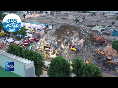 GWANGJU Building collapses (News Today) l KBS WORLD TV 210610