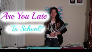 Running Late For School | Make Up & Outfit Thumbnail