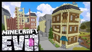 BUILDING IN DOWNTOWN EVO!? - Minecraft Evolution SMP - #46