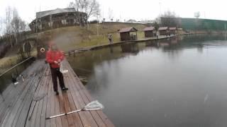 Рыбалка на водоеме ''Золотой Сазан'' ( н.Рига)