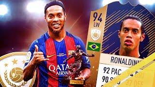 Fifa 18| Icon Ronaldinho  91  Player Review