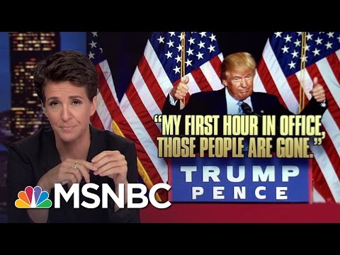 Donald Trump Nativist Speech Follows Dark US Pattern | Rachel Maddow | MSNBC