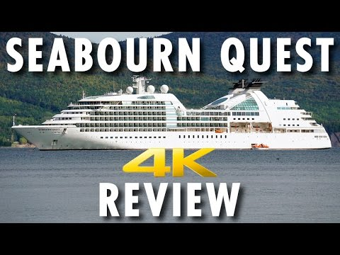 Seabourn Quest Tour & Review ~ Seabourn ~ Cruise Ship Tour & Review [4K Ultra HD]