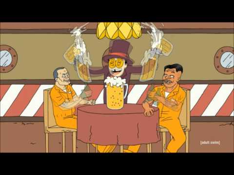 Superjail! - Party Bar: The Party Bar song that The Warden sings in Season 1 Episode 1