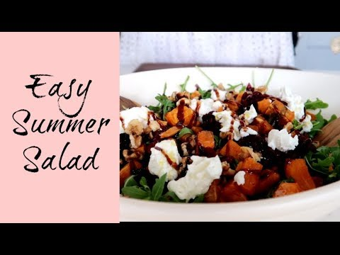 A SIMPLE SUMMER SALAD | EASY MUST TRY SALAD RECIPE | KERRY WHELPDALE