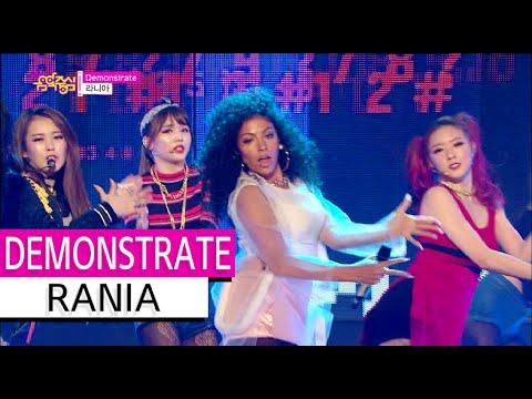 [HOT] RANIA - DEMONSTRATE, 라니아 - 데몬스트레이트, Show Music core 20151114