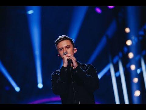 Noah Gerstenfeld sjunger Supermarket Flowers i Idols kvalfinal - Idol Sverige (TV4)
