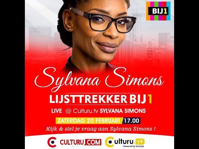 Culturu.com met Sylvana Simons