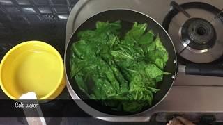 Palak Paneer Recipe || How to make palak paneer recipe Restaurant Style ||