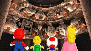 Mario Party 9 All Boss Battles #4