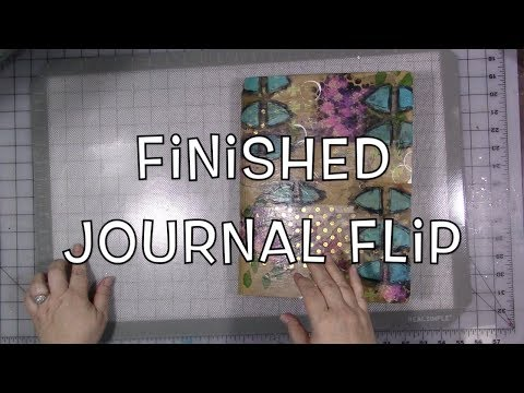 Finished Journal Flip